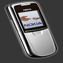 Nokia 8800 Phone Wallpapers logo