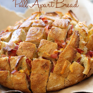 Cheddar Bacon Ranch Pull Apart Bread
