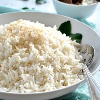 Restaurant Style Coconut Rice