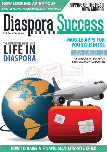 Diaspora Success Magazine - screenshot