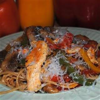 Skillet Chicken Pasta