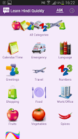 Screenshot of Learn Hindi Quickly