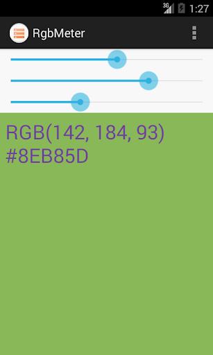 RGB Meter