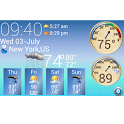 S4 Weather &Temperature Widget icon