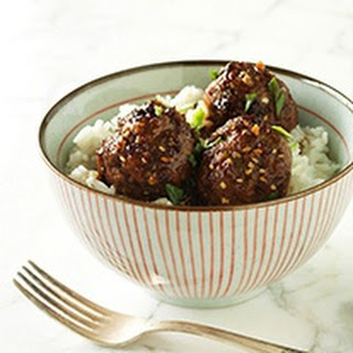 Saucy Asian Meatballs.