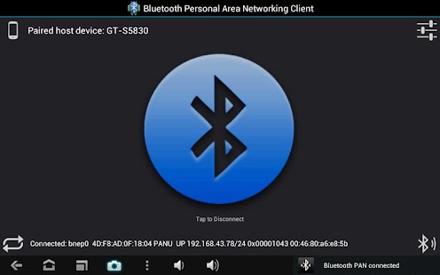 Bluetooth PAN for Root Users - screenshot thumbnail