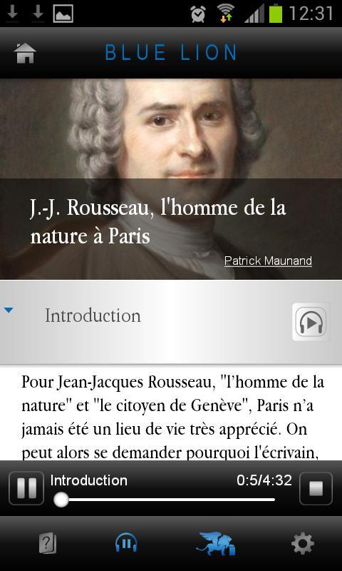 J-J Rousseau à Paris – Capture d'écran
