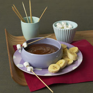 Skippy Chocolate Fondue.