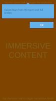 Screenshot of Immersive Mode (Unity Demo)
