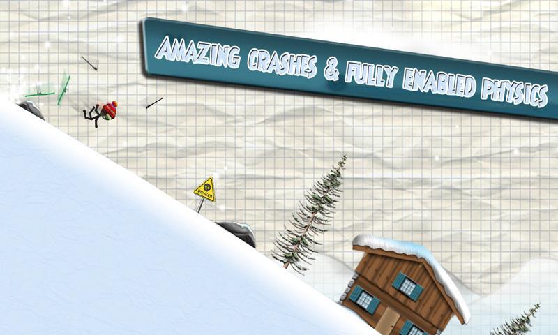 Stickman Ski Racer screenshot #5