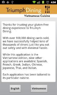 Gluten Free Vietnamese- screenshot thumbnail