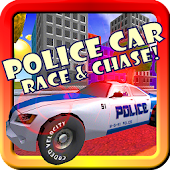 Police Car Race Chase Toddler