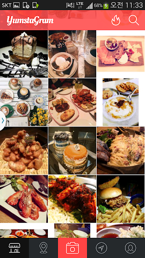 Yumstagram -World food nearby