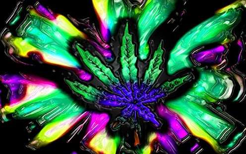 3D Trippy Weed Live Wallpaper - screenshot thumbnail
