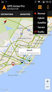 GPS Arrow Navigator PRO - screenshot thumbnail