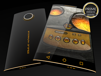 Steampunk Orange - Next Theme- screenshot thumbnail