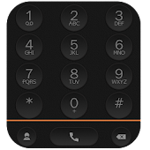 ExDialer Theme Black Graphite