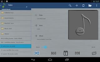 Screenshot of Hive Player
