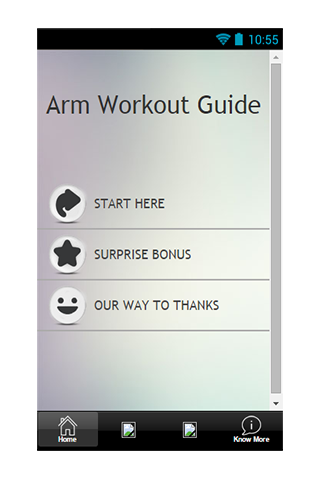 Arm Workout Guide