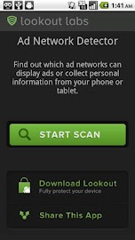 Ad-Network Scanner & Detector Screenshot 1