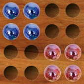 Chinese Checkers (jump over)