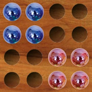 Chinese Checkers (jump over) for PC and MAC