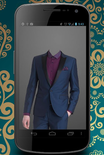 Tuxedo Man Photo suit