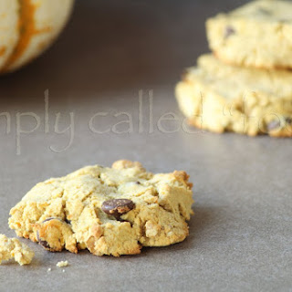 Gluten Free Pumpkin Cookies.