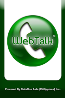 Screenshot of WebTalk Mobile