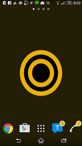 Orbs Black Yellow LWP