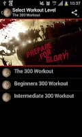 Screenshot of The 300 Gym Workout