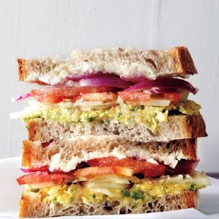 Greek Salad Sandwich.