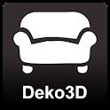Deko3D. Textile 3D Simulator. icon