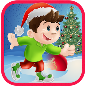 Christmas Run Icon