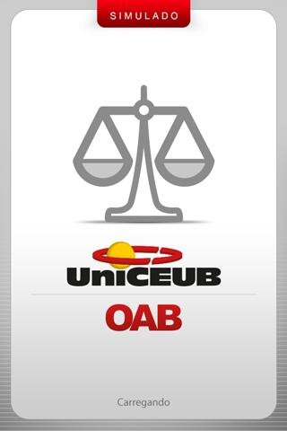 UniCEUB OAB- screenshot