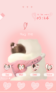 CUKI Theme Hug me Jennie
