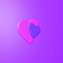 Pink Hearts Theme logo