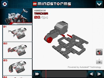 LEGO® MINDSTORMS® 3D Builder Screenshot 2