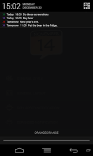 Calendar Status - screenshot thumbnail