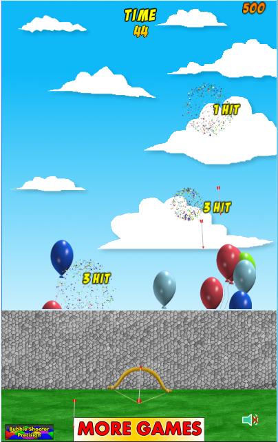 Exploding Balloons- screenshot