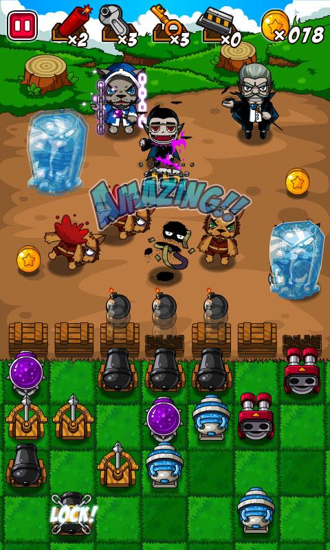 Monster War - screenshot