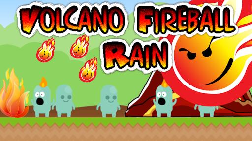 玩動作App|Volcano Fireball Rain免費|APP試玩