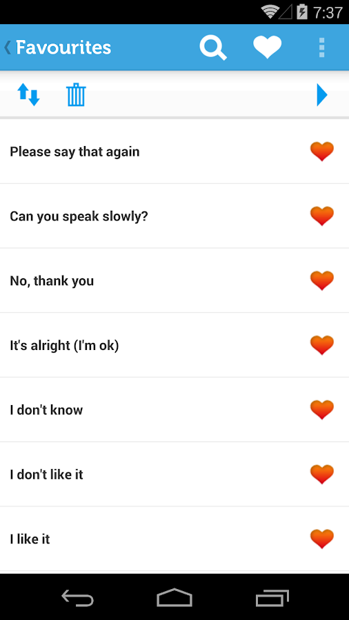 Learn Chinese Mandarin Phrases - screenshot