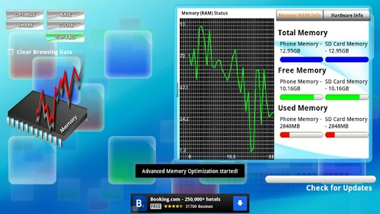 Memory Optimizer Plus FREE - screenshot thumbnail