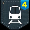 포켓철4 라이브- 실시간 지하철 내비게이션 icon