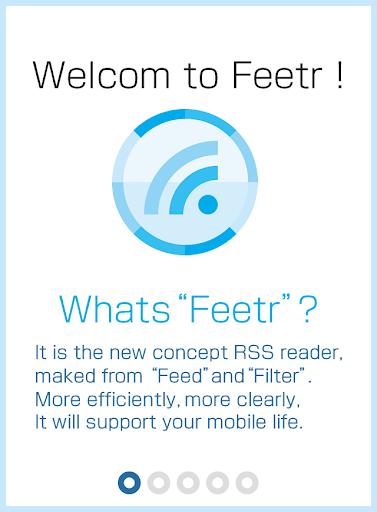 Feetr [Filter news RSS Reader]