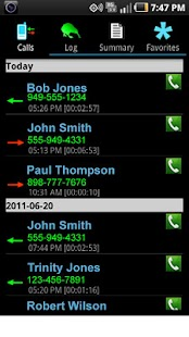Business Call Tracker - screenshot thumbnail
