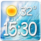 Sea Clock Weather Widget icon