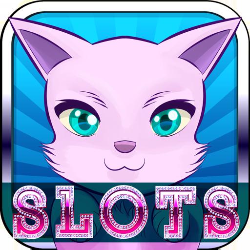 博奕のキティ猫のスロット LOGO-記事Game