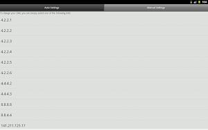 Engelsiz : DNS Changer app screenshot